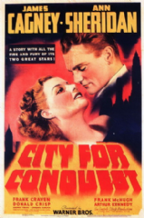 City for Conquest 1940 DVD - James Cagney / Ann Sheridan